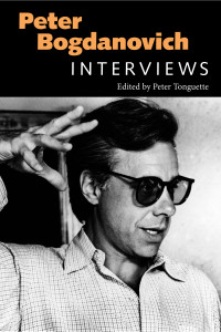 PETER BOGDANOVICH INTERVIEWS book cover