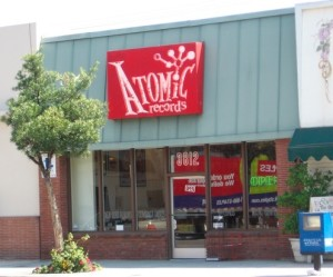 ATOMIC RECORDS storefront