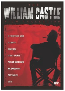 WILLIAM CASTLE FILM COLLECTION DVD box set (currently out of print)