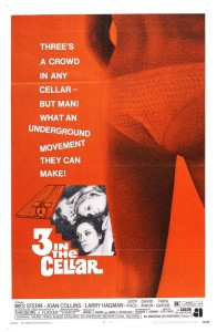 UP IN THE CELLAR (aka 3 IN THE CELLAR) poster